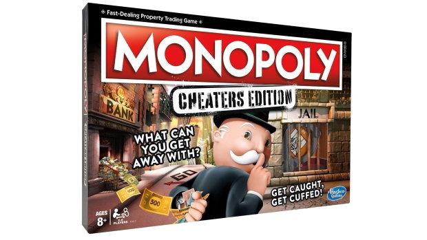 Brinquedos para comprar barato Monopoly cheaters edition na amazon