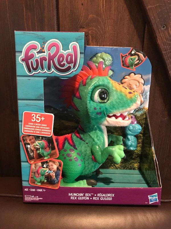 FurReal Munchin' Rex brinquedo importado para comprar na amazon