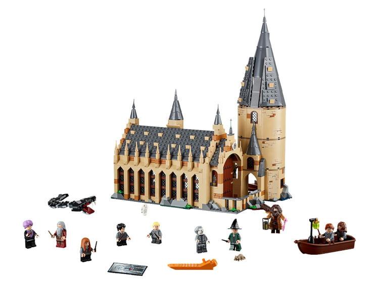 Harry Potter LEGO Hogwarts Great Hall melhores brinquedos importados