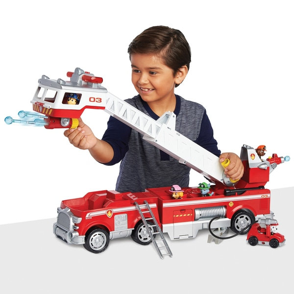 Paw Patrol — Ultimate Rescue Fire Truck with 2 ft. Tall Ladder melhores brinquedos importados