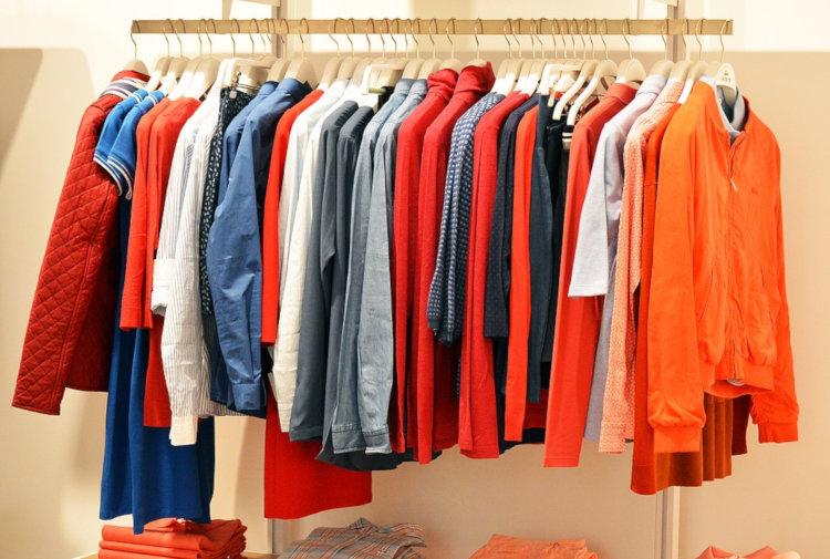 venda de roupas como alternativa para ganho extra