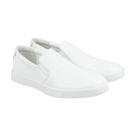 Calvin Klein Ivo Loafer tênis brancos importados dos EUA na Amazon