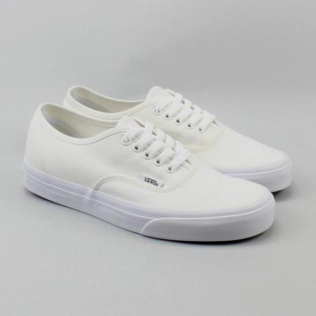 Tênis branco masculino Vans Authentic como comprar barato no exterior