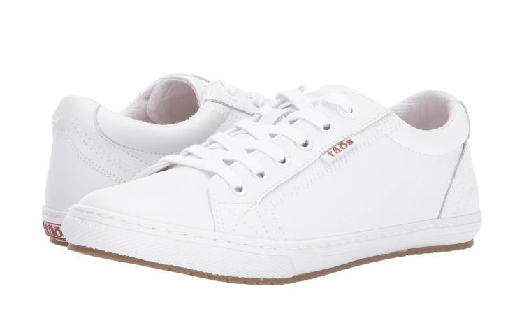 Taos Retro Star Classic um dos melhores tênis brancos femininos para importar