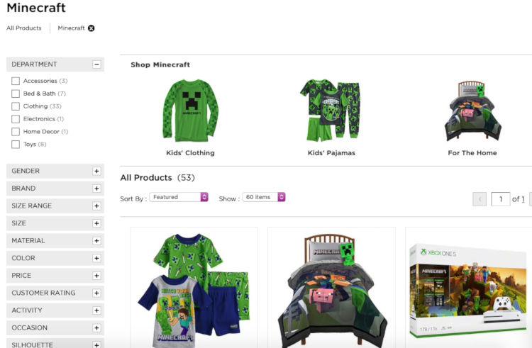 3. roupas infantis do minecraft