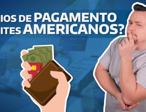 Quais os meios de pagamento aceitos em sites americanos?