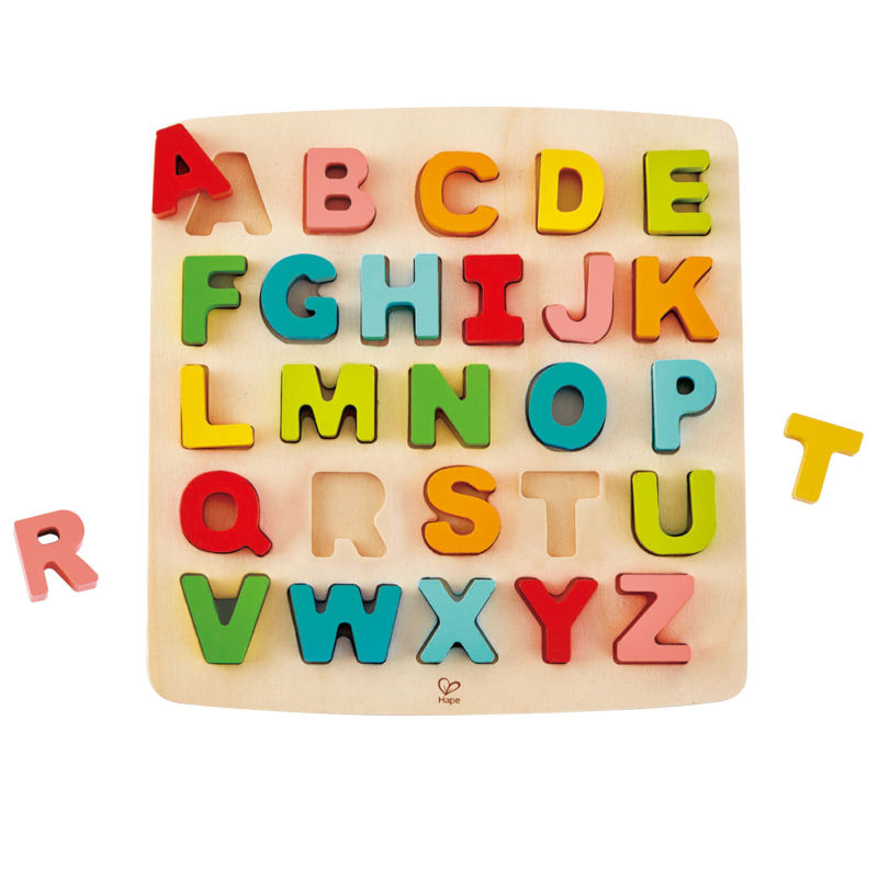 Brinquedos importados Hape Alphabet