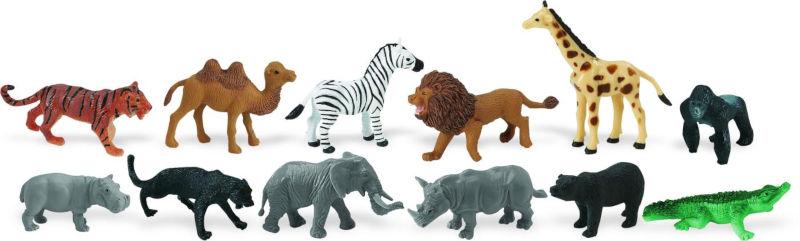 Como importar miniaturas de animais de brinquedo