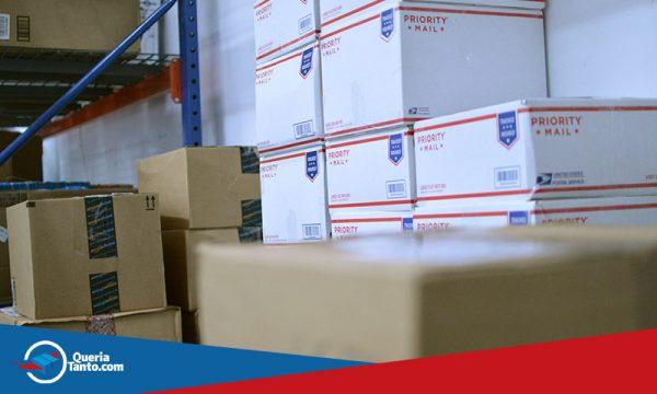Queriatanto.com - importar dos EUA, caixas no armazém na florida